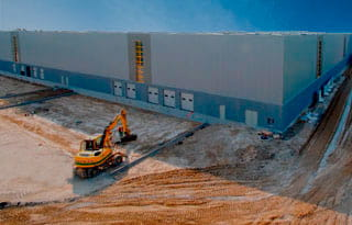 Construction Amazon Warehouse France